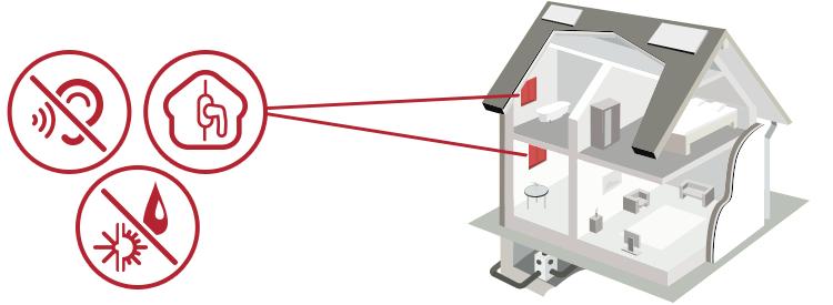 Illustrazione serramenti casa
